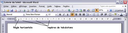 fib - formation  u00e0 word 2003